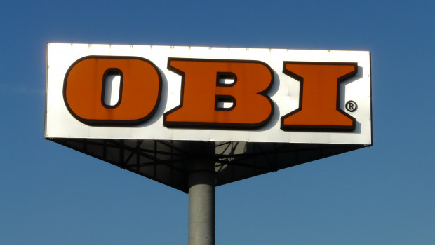 Gefragt nach ihrer Lieblingsmarke im Bereich Wohnung, Haus und Garten, nennen zehn Prozent der Deutschen Marktführer Obi.