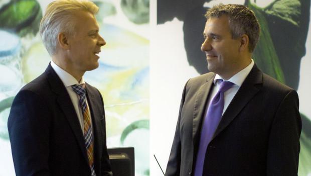 Der neue Sagaflor-Vorstand: Christian Appel (rechts) und Peter Pohl.