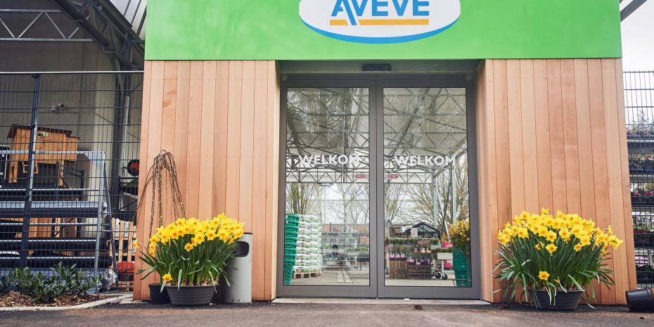 Aveve, Außenfassade