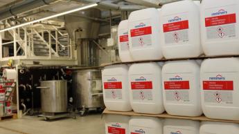 Remmers produziert jetzt auch Desinfektionsmittel