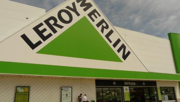 Leroy Merlin hat die mit Abstand größte Verkaufsfläche in Spanien.