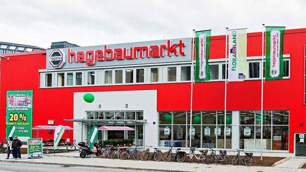 Den Hagebaumarkt in Unterföhring hat die HEV-Gruppe im November 2015 eröffnet.