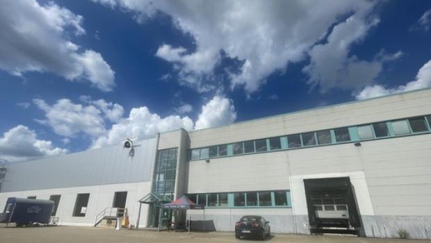 Der neue Bau wird knapp 3.000 Quadratmeter Lagerfläche bieten.