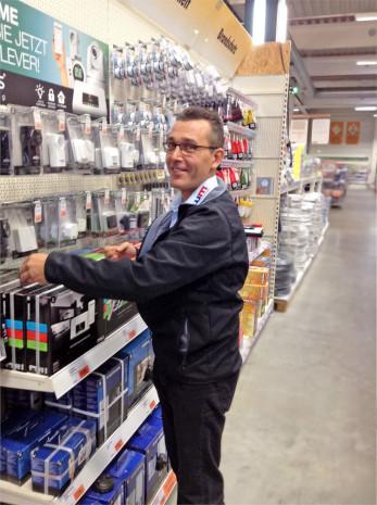WM Sales Support, Regalservice