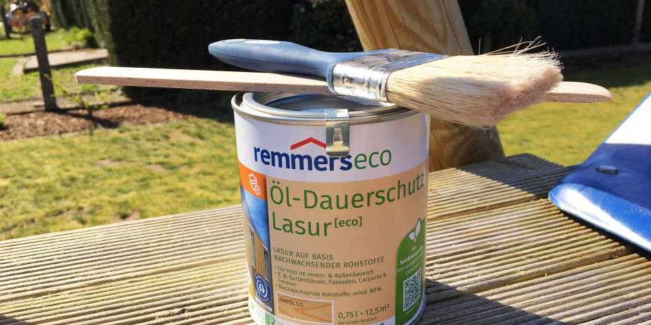 Remmers , Öl-Dauerschutz-Lasur