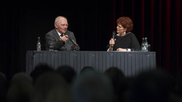 """""""Wie weiter – in Deutschland und in Europa?"""" – Bundesfinanzminister Dr. Wolfgang Schäuble zu Gast bei Würth."""