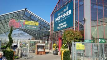 Sagaflor-Gartencenter eröffnen und erweitern