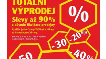 Die drei Baumarkt-Stand-alones in der Tschechischen Republik schließen