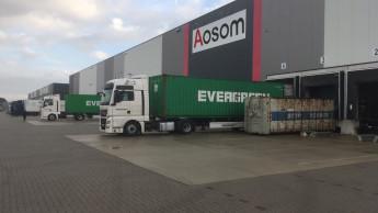 Chinesischer Shop Aosom hat zweites deutsches Logistikzentrum
