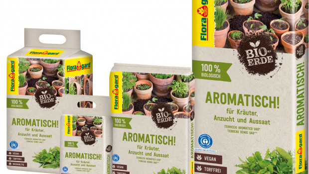 Floragard, vegane Bio-Erde