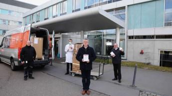 Fein Elektrowerkzeuge spendet 2.500 Atemschutzmasken an Klinik