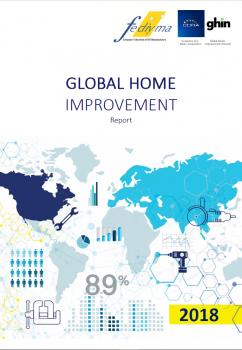 Deckblatt des neu erschienenen Global Home Improvement Report 2018 der European Federation of DIY Manufacturers (Fediyma).