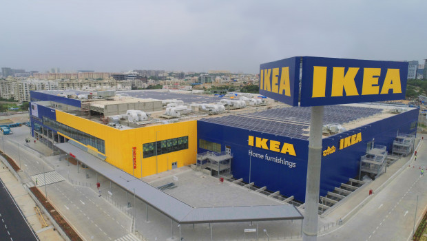 Ikea ist seit heute auch in Indien mit einem Einrichtungshaus präsent.