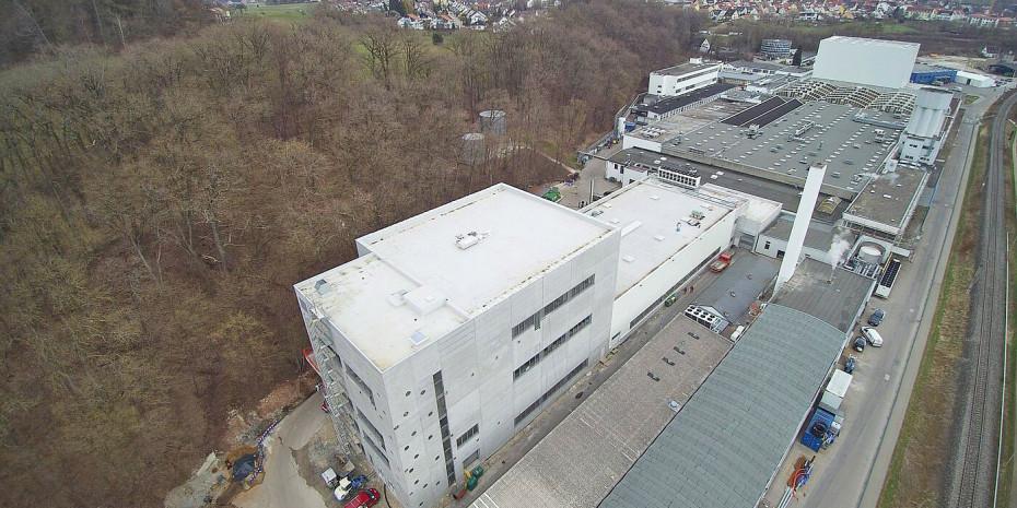 Die Academy wurde am Unternehmenssitz in Ellwangen errichtet.