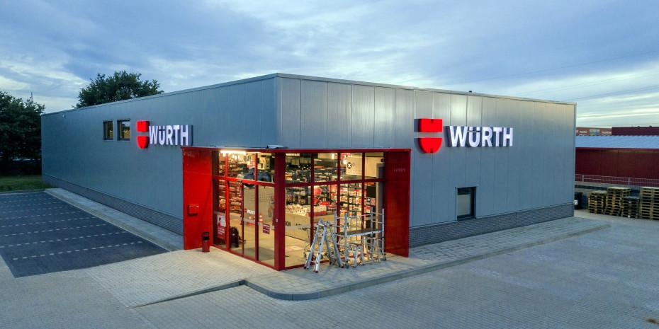 Der neue Flagship-Store von Würth steht in Kamp-Lintfort.