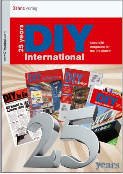 25 years DIY International