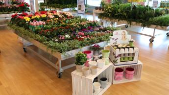 Die Eurobaustoff steigert den Garten-Einkauf um fünf Prozent