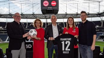 Hailo wird Partner von Eintracht Frankfurt