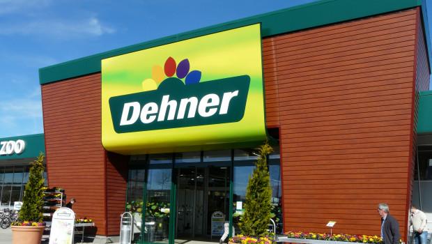 Der Gartencenterbetreiber Dehner wird von den Verbrauchern als zweitbeste Marke im Bereich Bauen und Einrichten bewertetn.