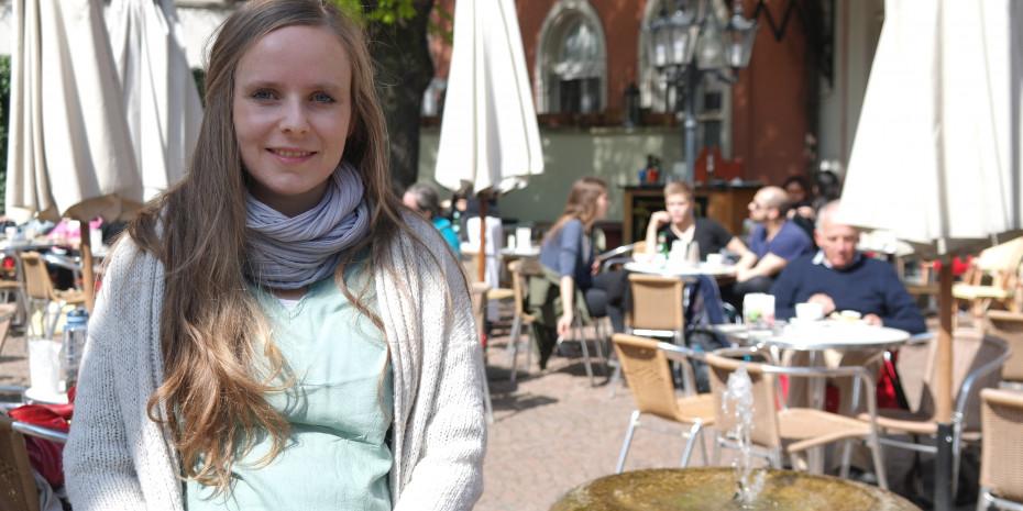 """Sabrina Jäger, Regisseurin und Produzentin des Dokumentarfilms """"Hier sprach der Preis""""."""