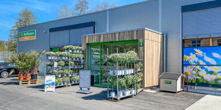 Für den neuen Raiffeisen-Markt in Stockach hat die ZG ein neues Konzept entwickelt, das bei künftigen Neubauten und Modernisierungen zum Einsatz kommt.