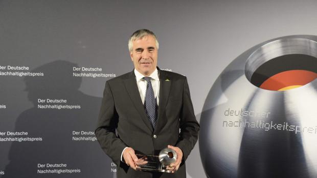 Freut sich über die Auszeichnung: Neudorff-Geschäftsführer Hans Martin Lohmann.