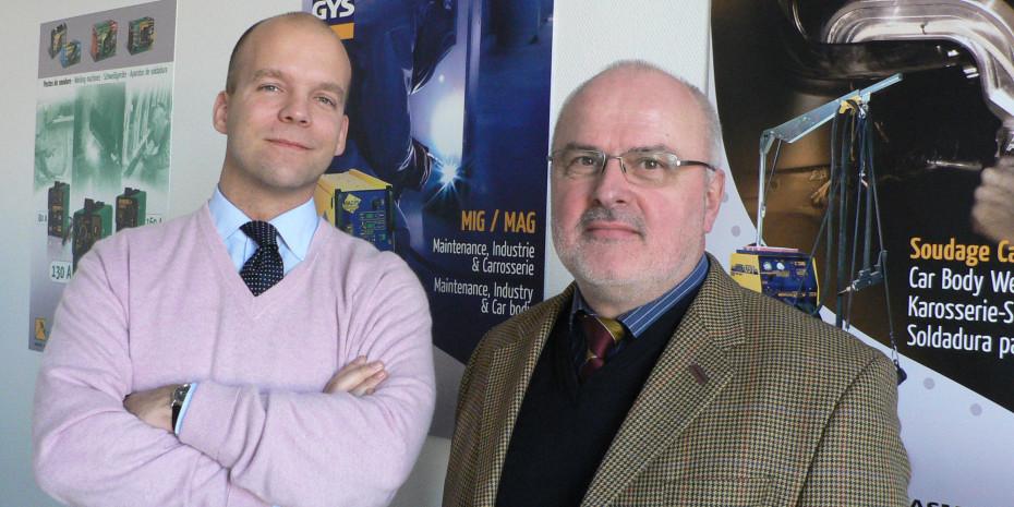 Gys Frankreich, Bruno Bouygues und  Lothar Dähn, Gys GmbH Aachen