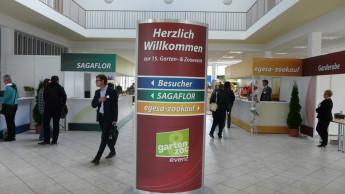 Sagaflor zeigt in Kassel neue Gartenkonzepte
