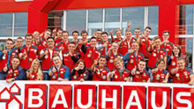 Bei Bauhaus starten 384 Auszubildende ins Berufsleben.