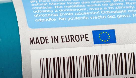 """Das Herkunftslabel """"Made in Europe"""" hat Akzeptanzprobleme – vor allem in Deutschland."""