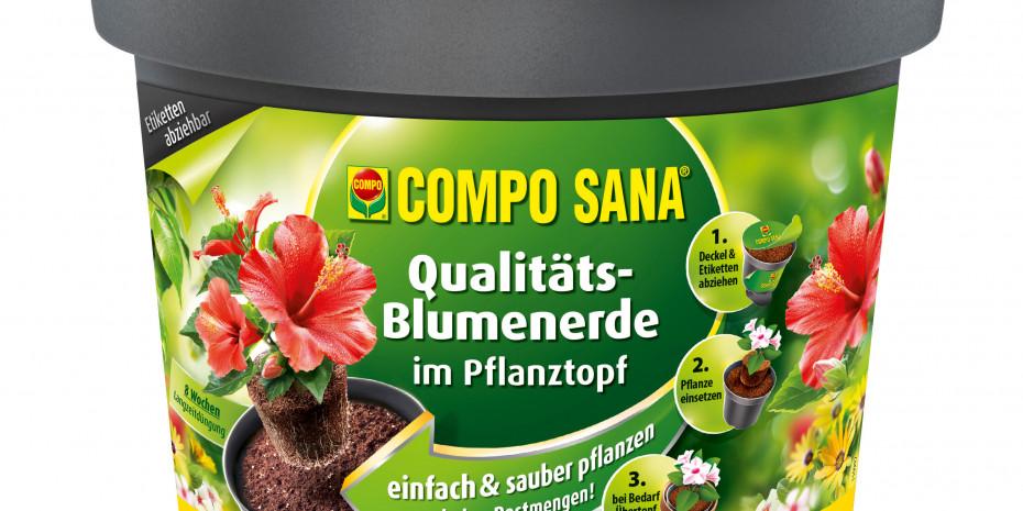Compo Sana, Qualitäts-Blumenerde