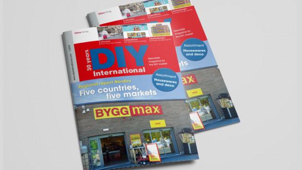 Die fünf nordischen Länder stehen im Fokus der aktuellen Ausgabe von DIY International.