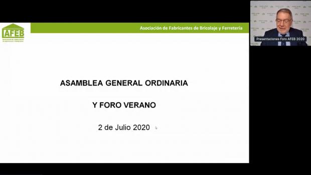 Die Hauptversammlung des spanischen Herstellerverbands AFEB fand komplett im Netz statt.
