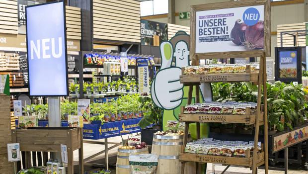 Auf der Pro Garten & Tier hat die Sagaflor-Zentrale ihren Mitgliedern auch 2020 Vermarktungskonzepte wie hier zum Thema Selbstversorgung präsentiert.