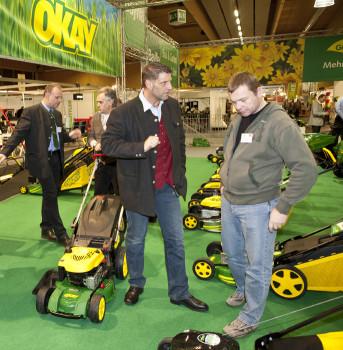 Auf der Ordermesse in Wels präsentieren 135 Lieferanten die aktuellen Gartentrends.