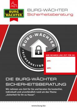 Burgwächter, Sicherheitsberatung
