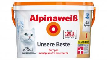 Alpinaweiß - Unsere Beste, Testsieger Stiftung Warentest
