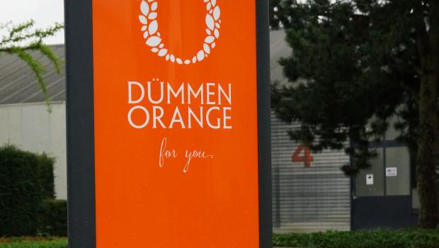 Die Standorte von Dümmen Orange treten ab sofort mit der neuen Firmierung und dem neuen Logo auf.