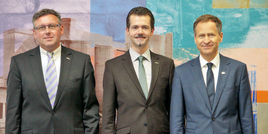 ZEB (v. l.): Dirk Schmalenberg, Marcel Göllner und Antonius Trachternach