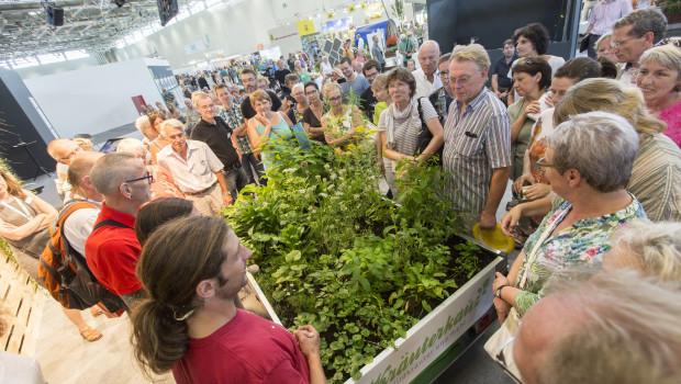 Beim Tag des Gartens präsentierten sich 114 Aussteller im Rheinpark und in Halle 8 der Koelnmesese.