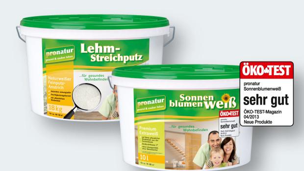 decotric, Pronatur Lehm-Streichputz,