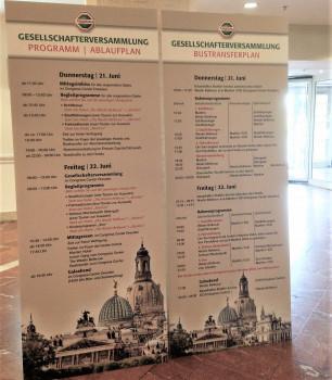 Die Gesellschafterversammlung 2018 der Hagebau findet heute in Dresden statt.