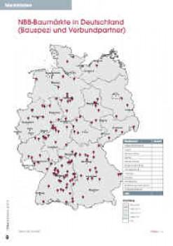 NBB-Baumärkte in Deutschland (Bauspezi und Verbundpartner) [Stand: 30.6.17.]