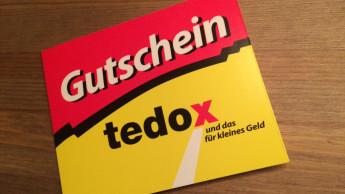 Tedox gestaltet Giftcard-Programm neu