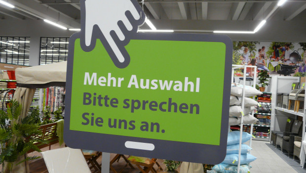 Der Online-Anteil steigt auch im Gartenhandel. Dehner beispielsweise forciert den Cross-Channel-Gedanken.