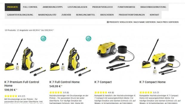 Der Internet-Verband Eco macht die Markenführung durch Monobrand-Shops zum Thema. Ein Beispiel dafür ist Kärcher.
