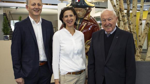 Die neue Geschäftsführung der Max Schierer Gruppe: Martina Schierer, Max Schierer sen. und Josef Schmidberger. [Bild: Max Schierer Gmb]