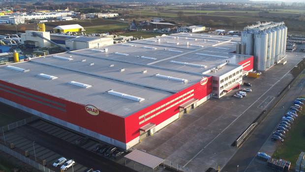 Das Kompetenzzentrum in Herbolzheim: Sein Bau ist die größte Einzelinvestition inder über 50-jährigen Unternehmensgeschichte der Graf-Gruppe.