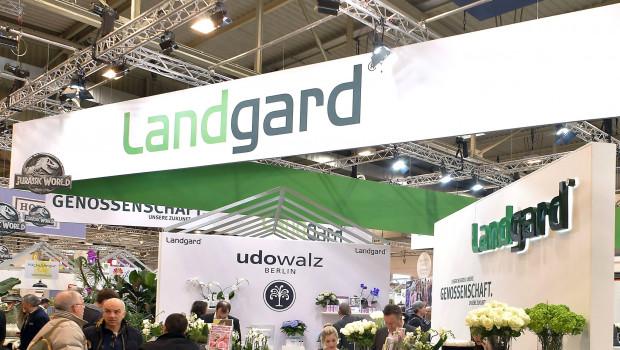 Mit einem großen Stand ist die Landgard-Sparte Blumen & Pflanzen auch immer auf der IPM in Essen vertreten.