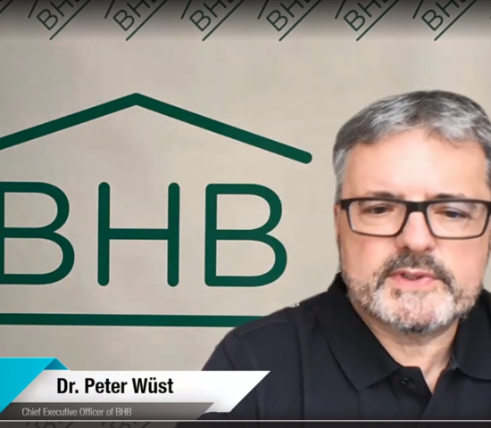 BHB-Geschäftsführer Peter Wüst gab ebenso ein Statement ab wie...